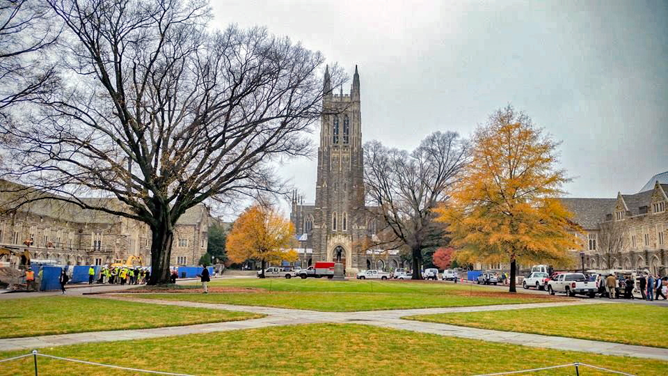 Duke West Campus Quad